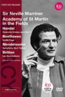 メンデルスゾーン:交響曲第4番『イタリア』、ベートーヴェン:大フーガ、ブリテン:イリュミナション、他 マリナー&アカデミー室内管、ロルフ・ジョンソン