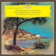 交響曲第4番『イタリア』、第5番『宗教改革』 マゼール&ベルリン・フィル