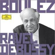ドビュッシー:管弦楽曲集、ラヴェル:管弦楽曲集 ブーレーズ&クリーヴランド管、ベルリン・フィル、ロンドン響、ツィマーマン、オッター、他(6CD)