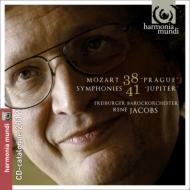 交響曲第41番『ジュピター』、交響曲第38番『プラハ』 ヤーコプス&フライブルク・バロック管