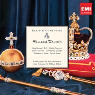 交響曲、管弦楽曲、協奏曲、合唱曲集、他 プレヴィン、サージェント、(5CD)