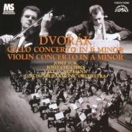 チェロ協奏曲、ヴァイオリン協奏曲 フッフロ、スーク、ノイマン&チェコ・フィル