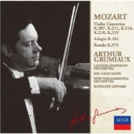ヴァイオリン協奏曲全集 アルテュール・グリュミオー、コリン・デイヴィス&ロンドン交響楽団(2CD)