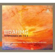 交響曲第1番、第4番 ヤンソンス&バイエルン放送交響楽団(2007、2012)(2CD)