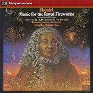 王宮の花火の音楽、他 チャールズ・マッケラス&ロンドン交響楽団 (180グラム重量盤レコード/Hi-Q Records Supercuts)