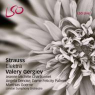 『エレクトラ』全曲 ゲルギエフ&ロンドン響、シャルボネ、デノケ、ゲルネ、他(2010 ステレオ)(2SACD)