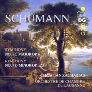 交響曲第2番、第4番 ツァハリアス&ローザンヌ室内管弦楽団