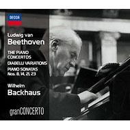ピアノ協奏曲全集、他 バックハウス、シュミット=イッセルシュテット&ウィーン・フィル(4CD)