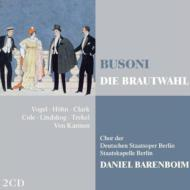 歌劇『嫁選び』全曲 バレンボイム&ベルリン国立歌劇場、フォーゲル、クラーク、他(1992 ステレオ)(2CD)