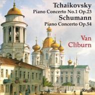 チャイコフスキー:ピアノ協奏曲第1番、シューマン:ピアノ協奏曲 クライバーン、コンドラシン&交響楽団、ライナー&シカゴ響