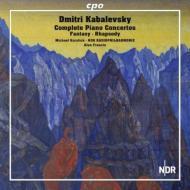 ピアノ協奏曲全集、狂詩曲、幻想曲 コルスティック、A.フランシス&北ドイツ放送フィル(2CD)