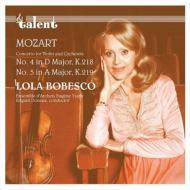 ヴァイオリン協奏曲第4番、第5番:ローラ・ボベスコ(ヴァイオリン)、エドガール・ドヌー指揮&ウジェーヌ・イザイ弦楽アンサンブル (180グラム重量盤レコード)