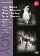 『レ・シルフィード』、『コッペリア』テレビ版、『ジゼル』より ナディア・ネリナ、マーゴ・フォンテイン、ルドルフ・ヌレエフ、他(1956、57、62)
