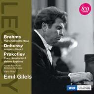 ブラームス:ピアノ協奏曲第2番(1971ステレオ)、ピアノ・リサイタル(1974ステレオ) ギレリス、ロッシ&ケルン放送響