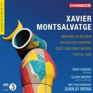 シンフォニア・ダ・レクィエム、交響的万華鏡、パルティータ1958、5つの黒人の歌 メナ&BBCフィル、ヒューズ、モウリス