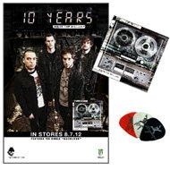 Minus The Machine: 10 Years Fan Package #1 (+poster)(+guitar Pick)