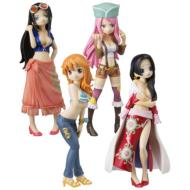 HalfAge Characters ワンピース girls party!(1BOX8個入り)
