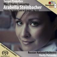 ヴァイオリン協奏曲第1番、第2番、無伴奏ヴァイオリン・ソナタ シュタインバッハー、V.ペトレンコ&ロシア・ナショナル管
