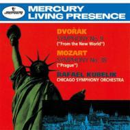 Dvorak Symphony No.9, Mozart Symphony No.38 : Kubelik / Chicago Symphony Orchestra