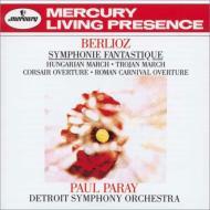 幻想交響曲、序曲『ローマの謝肉祭』、ラコッツィ行進曲、他 ポール・パレー&デトロイト交響楽団