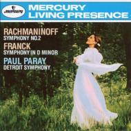 ラフマニノフ:交響曲第2番、フランク:交響曲 ポール・パレー&デトロイト交響楽団