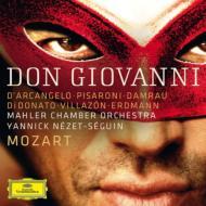 『ドン・ジョヴァンニ』全曲 ネゼ=セガン&マーラー・チェンバー・オーケストラ、ダルカンジェロ、ディドナート、ヴィラゾン、ダムラウ、他(2011)(3CD)