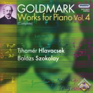ゴルトマルク(1830-1915)/Complete Piano Works Vol.4-duo Piano: Hlavacsek Szokolay(P)