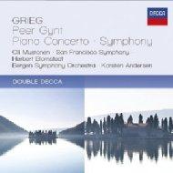 『ペール・ギュント』抜粋、ピアノ協奏曲(ブロムシュテット&サンフランシスコ響、ムストネン)、交響曲(K.アンデルセン&ベルゲン響)(2CD)
