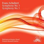 交響曲第5番、第3番 デニス・ラッセル・デイヴィス&バーゼル交響楽団