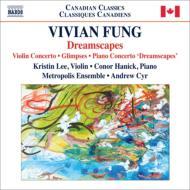 ピアノ協奏曲『ドリームスケープ』、ヴァイオリン協奏曲、面影 シル&メトロポリス・アンサンブル、ハニック、K.リー