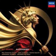 『アレッサンドロ』全曲 ペトルー&アルモニア・アテネア、ツェンチッチ、レージネヴァ、他(2011 ステレオ)(3CD)