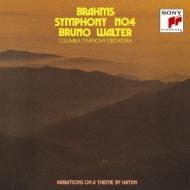 交響曲第4番、ハイドンの主題による変奏曲 ワルター&コロンビア交響楽団