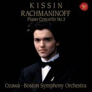 ラフマニノフ:ピアノ協奏曲第3番、ヴォカリーズ、リスト:スペイン狂詩曲、他 キーシン、小澤征爾&ボストン響