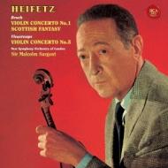 ブルッフ:ヴァイオリン協奏曲第1番、スコットランド幻想曲、ヴュータン:ヴァイオリン協奏曲第5番 ハイフェッツ、サージェント&ロンドン新響