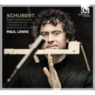 ピアノ・ソナタ第16番、『さすらい人幻想曲』、楽興の時、即興曲集、他 ポール・ルイス(2CD)
