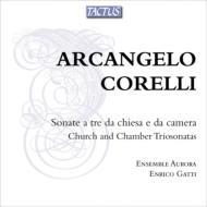 トリオ・ソナタ集 E.ガッティ、アンサンブル・アウローラ(2CD)