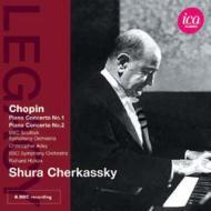 ピアノ協奏曲第1番、第2番 チェルカスキー、エイディ&BBCスコティッシュ響、ヒコックス&BBC響(1981、83ステレオ)