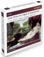 バッハ:オルガン作品集、ドイツ・バロック時代の鍵盤楽器作品集 レオンハルト(4CD限定盤)