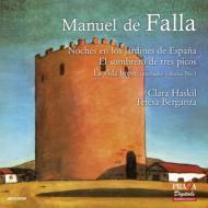 スペインの庭の夜(ハスキル、マルケヴィチ&ラムルー管)、三角帽子(アンセルメ&スイス・ロマンド管、ベルガンサ)、他