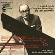 グルダ、エレクト・レコード全録音〜1967年ルーマニア・ライヴ(モーツァルト:ピアノ協奏曲第20番、第27番、ドビュッシー、ラヴェル、他(2CD)