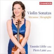 Strauss Violin Sonata, Respighi Violin Sonata, etc : T.Little(Vn)Lane(P)