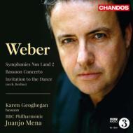 交響曲第1番、第2番、ファゴット協奏曲、舞踏への勧誘 メナ&BBCフィル、ジョーヒガン