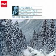 交響曲第5番、第7番 バルビローリ&ハレ管弦楽団(シングルレイヤー)