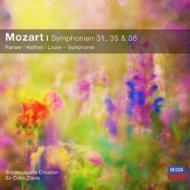 交響曲第31番『パリ』、第35番『ハフナー』、第36番『リンツ』 C.デイヴィス&シュターツカペレ・ドレスデン