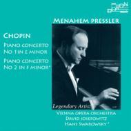 ピアノ協奏曲第1番、第2番 プレスラー、D.ジョセフォヴィッツ、スワロフスキー、ウィーン国立歌劇場管