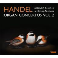ヘンデル(1685-1759)/Organ Concertos Oboe Concerto 3 : L.ghielmi(Org) / La Divina Armonia P.grazzi(Ob)