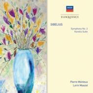 交響曲第2番、カレリア組曲 モントゥー&ロンドン響、マゼール&ウィーン・フィル