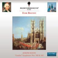 交響曲第102番、第103番『太鼓連打』 ボルトン&モーツァルテウム管弦楽団