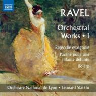 管弦楽作品集第1集〜ボレロ、亡き王女のためのパヴァーヌ、他 スラトキン&リヨン国立管弦楽団