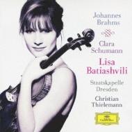 Violin Concerto: Batiashvili(Vn)Thielemann / Skd +c.schumann: 3romances: アリス=紗良・オット(P)